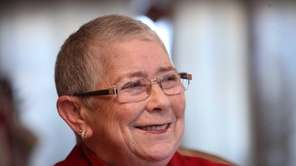 Congresswoman Carolyn McCarthy announces during an exclusive interview