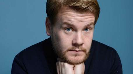James Corden at the Guess Portrait Studio during