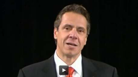 Gov. Andrew M. Cuomo delivered a State of