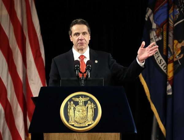 Gov. Andrew M. Cuomo delivers his annual State