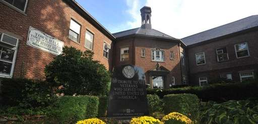 Pictured is the Oyster Bay Town Hall on