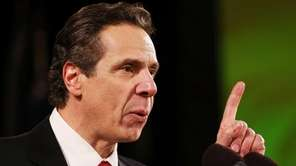 New York Gov. Andrew Cuomo's to-do list for