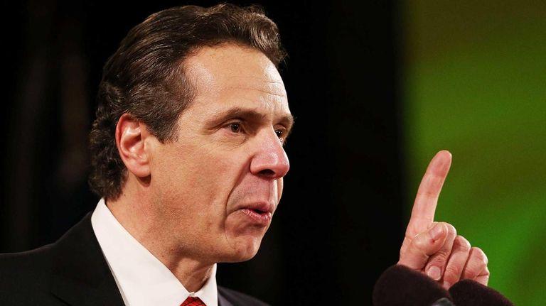 New York Gov. Andrew Cuomo's to-do list for
