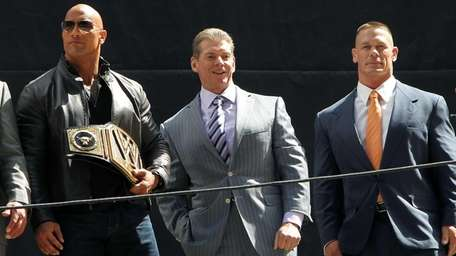 WWE Chairman/CEO Vince McMahon -- shown here in