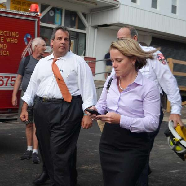 New Jersey Gov. Chris Christie and deputy chief