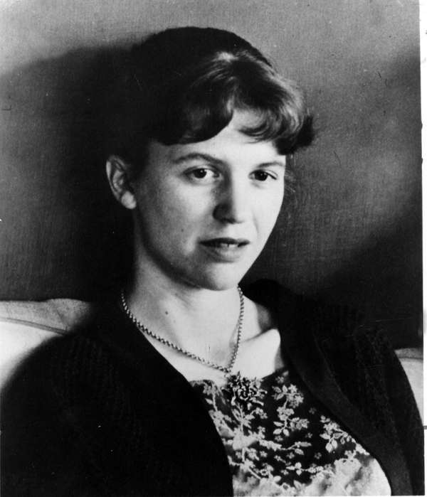 Sylvia Plath. A new book, 'Drawings,' collects her