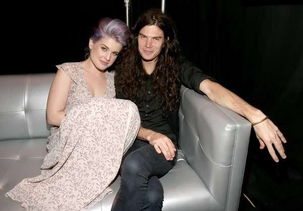 Kelly Osbourne and chef Matthew Mosshart attend the