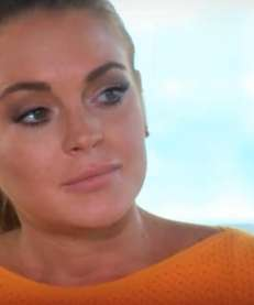 Lindsay Lohan opened up to Oprah Winfrey in