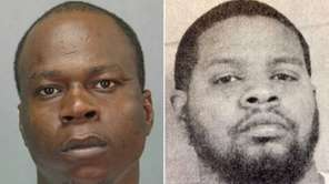 Christopher Evans, 29, left, and Angelo Brown, 35,