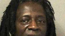 Rapper Flavor Flav, who was arrested on Jan.
