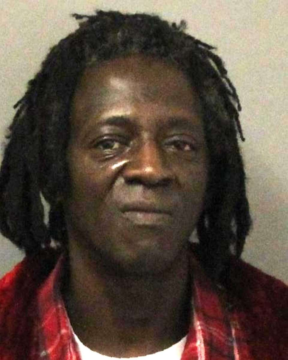 Rapper Flavor Flav was arrested on Jan. 9,