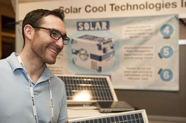 Ryan McGann of Shoreham, founder of Solar Cool