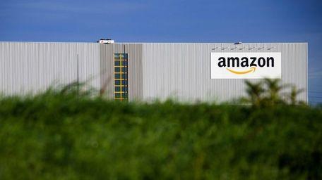 The new logistics center of online merchant Amazon