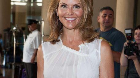 Lori Loughlin attends Hallmark Channel and Hallmark Movie