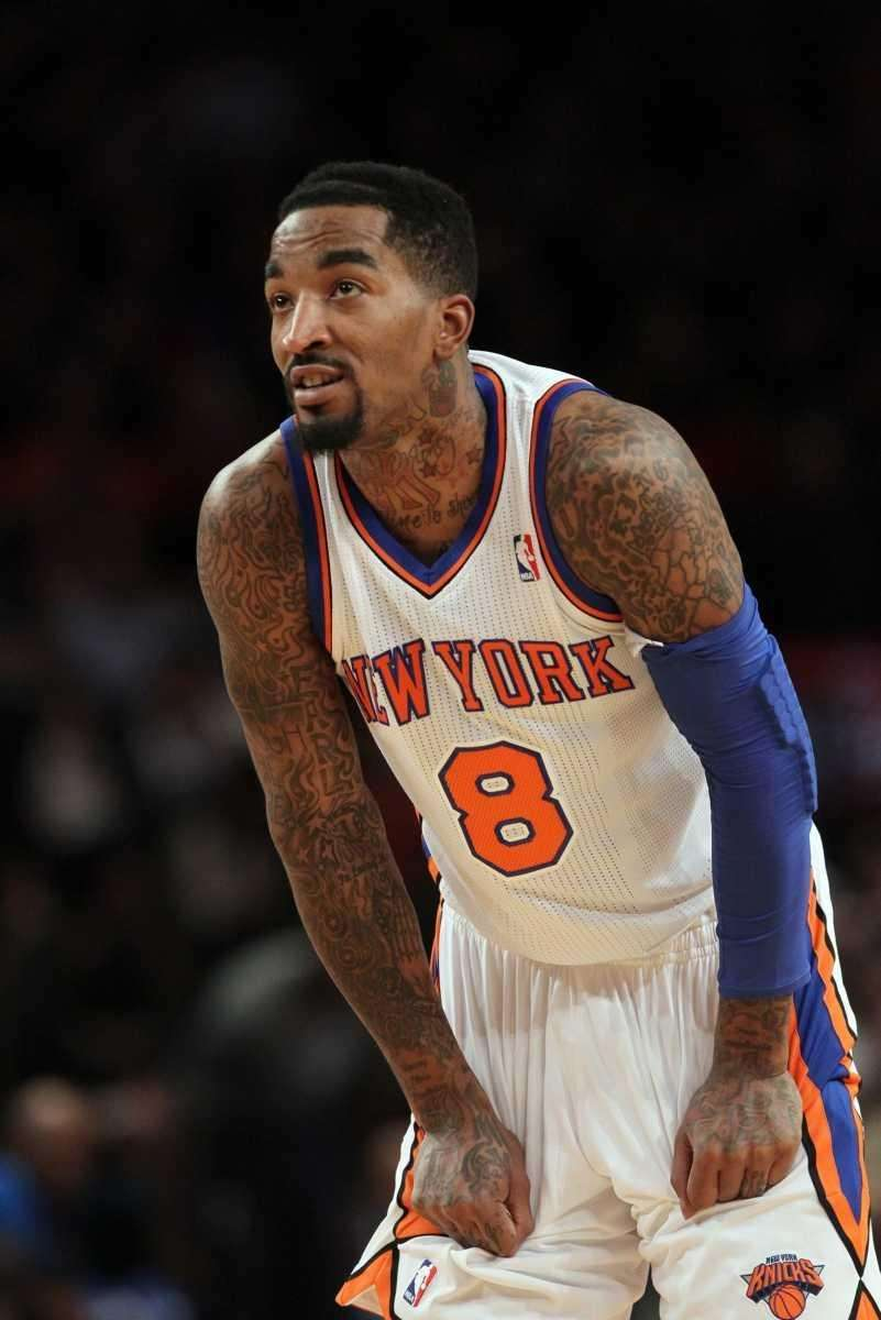 SIGNS WITH KNICKS Feb. 17, 2012 Smith signs