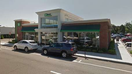 An exterior image of the TD Bank branch