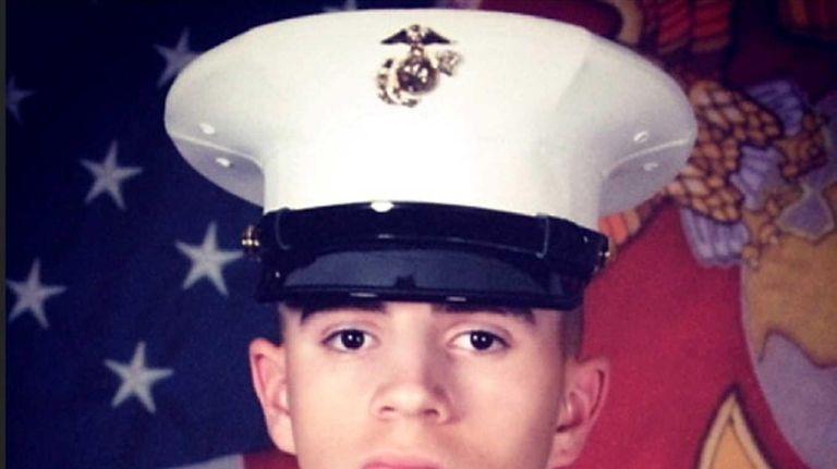 Nicholas Buscarnera, 19, of Mastic Beach, was killed