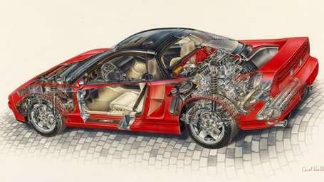 The Acura NSX had VTEC variable valve timing,