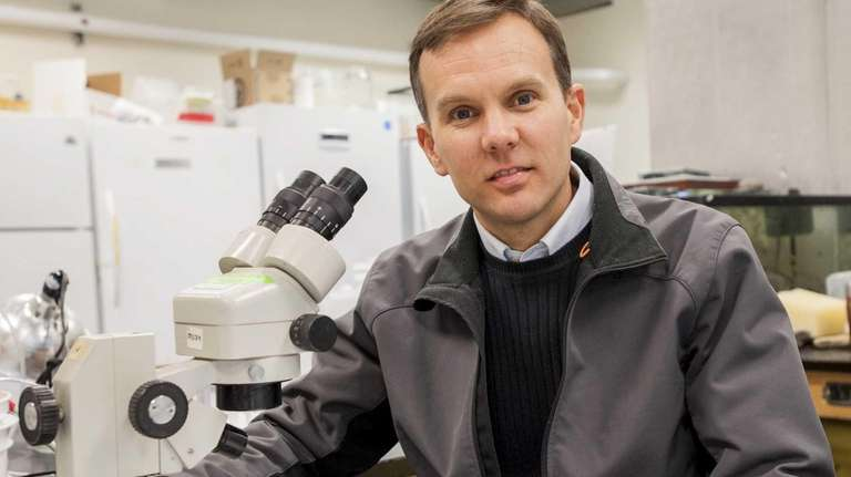 Dr. Christopher Gobler, of the Stony Brook Southampton