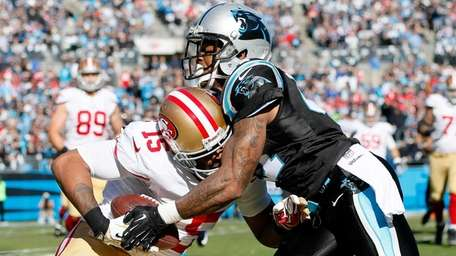 San Francisco 49ers wide receiver Michael Crabtree is