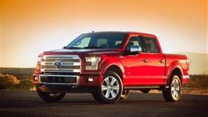 Ford unveiled its all-new F-150 at the 2014