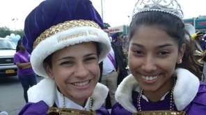 From left, Central Islip Senior High School senior