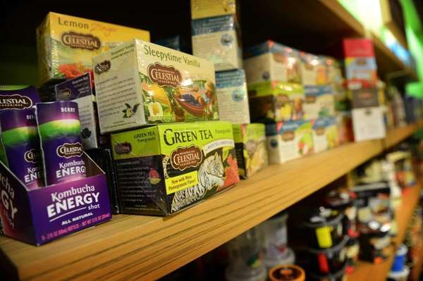 Hain Celestial products on a store shelf in