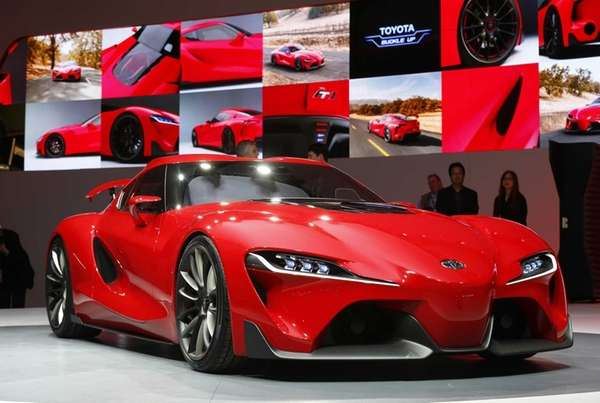 Toyota FT1 sports car pushes past Camry Corolla towards