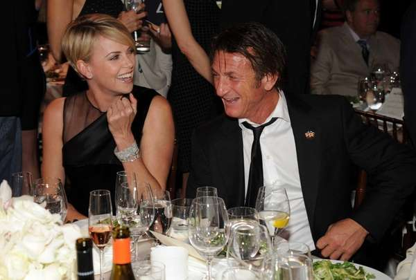 Charlize Theron and Sean Penn at the 3rd