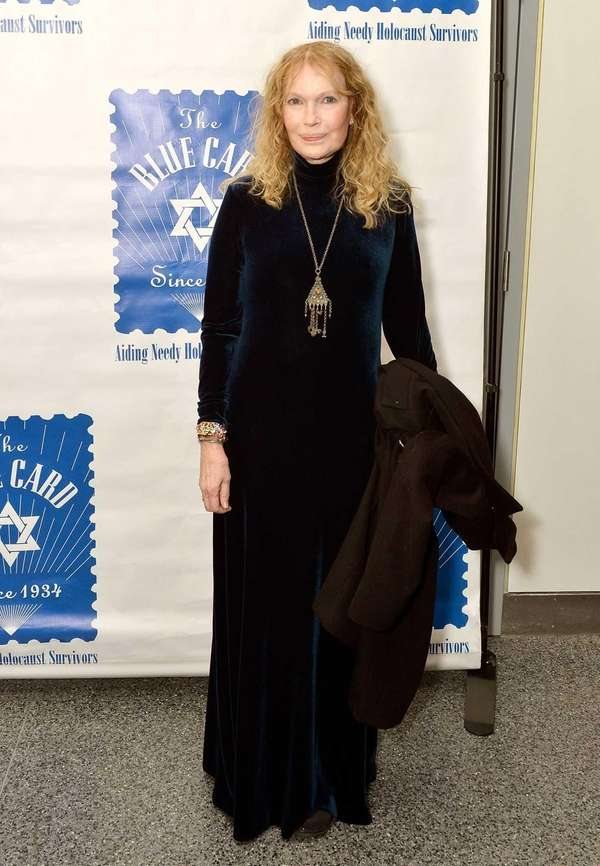 Mia Farrow attends the 79th Annual Blue Card