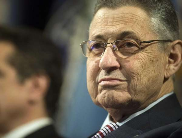 New York State Assembly Speaker Sheldon Silver at