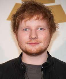 Ed Sheeran at the Grammy nominations concert live