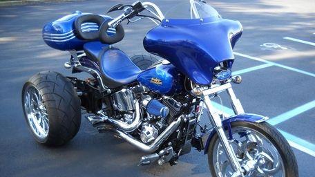 "The 2007 Harley-Davidson FXSTC Softail Custom ""trike"" owned"