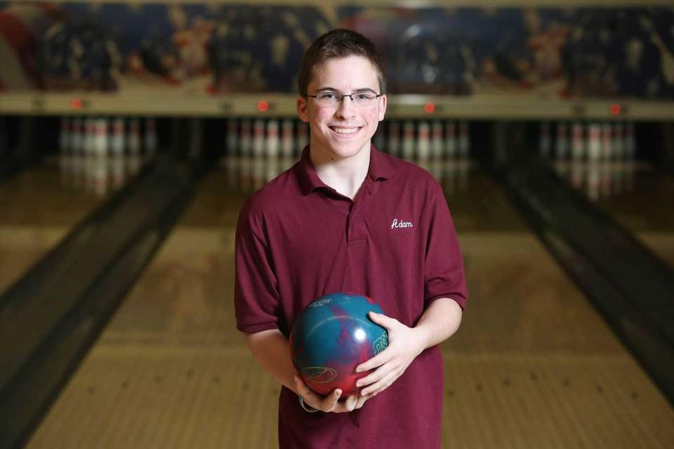 Deer Park bowler Adam Zimmerman poses for a