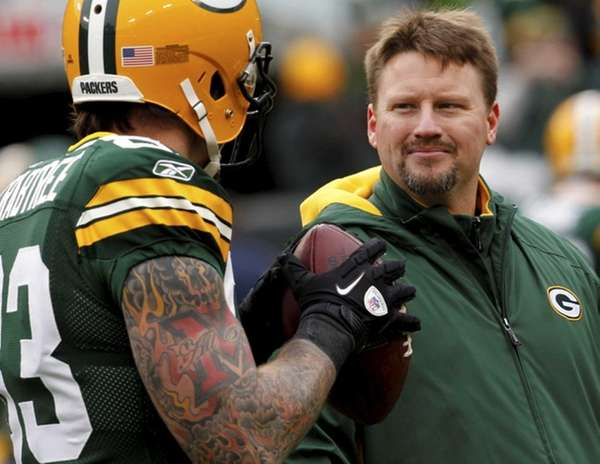 Green Bay Packers tight end coach Ben McAdoo