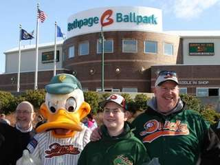 Go to a Long Island Ducks game Take