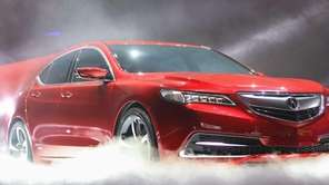 The new Acura TLX prototype is unveiled at