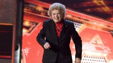 Mae Young appears on an episode of WWE