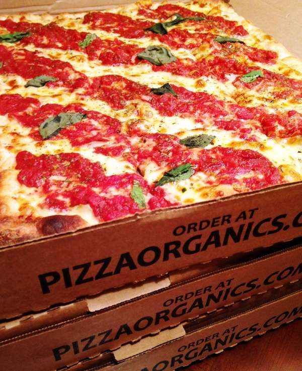 Pizza Organics is a Westbury-based pizza-delivery service.