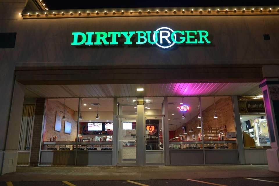 DirtyBurger, a trendy new hamburger restaurant in Plainview.