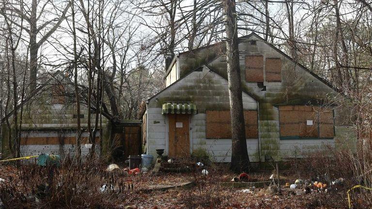 A house on Bayonne Avenue in Central Islip.