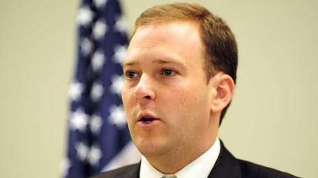State Senator Lee Zeldin, chairman of the Senate