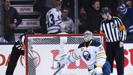 Toronto Maple Leafs forward Tyler Bozak, not shown,