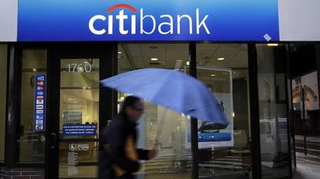Citigroup reports on Monday, April 14, 2014, that