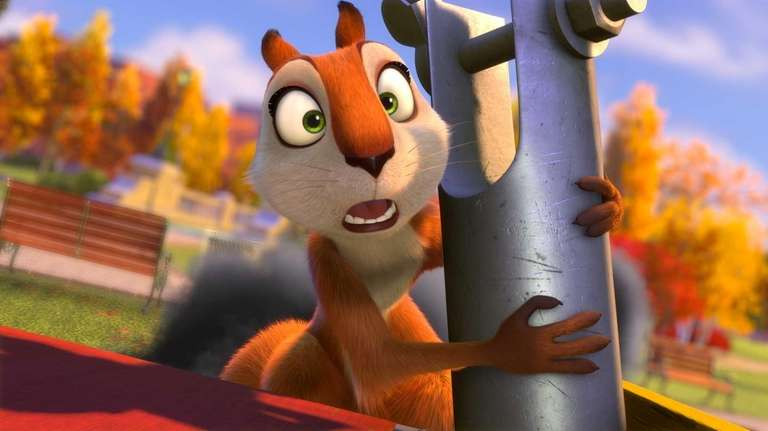Andie, voiced by Katherine Heigl, in a scene