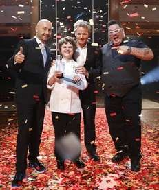 Gordan Ramsay, Joe Bastianich and Graham Elliot of