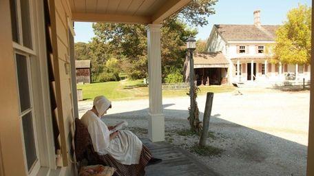Old Bethpage Restoration Village is a time machine