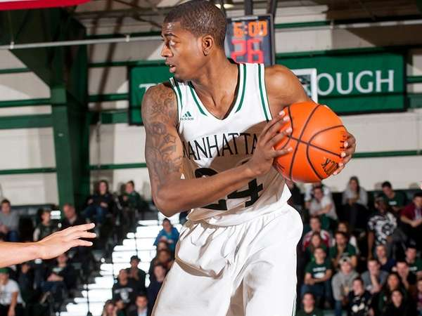 Manhattan College basketball player and Roslyn alum George