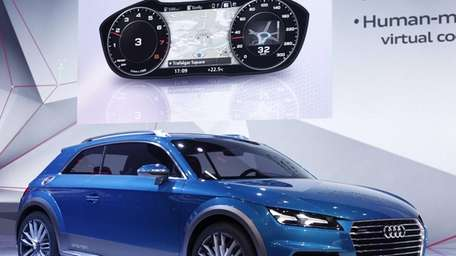 The new Audi Allroad Concept vehicle is revealed