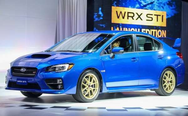 The Subaru WRX STI Launch Edition is introduced